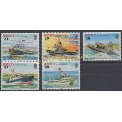Jersey - 2002 - No 1010/1014 - Bateaux