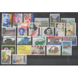 Pays-Bas - Année complète - 1980 - No 1122/1144