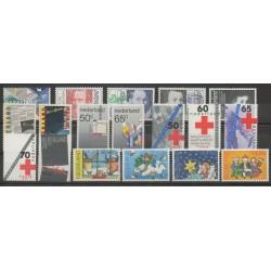 Pays-Bas - Année complète - 1983 - No 1197/1214