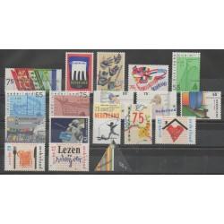 Pays-Bas - Année complète - 1989 - No 1327/1344