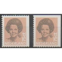 Pays-Bas - 1982 - No 1181b/1181c