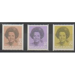 Pays-Bas - 1982 - No 1181a - 1182a - 1184a