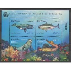 Espagne - 2013 - No F4494 - Animaux marins - Espèces menacées - WWF