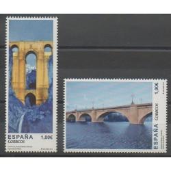 Espagne - 2013 - No 4501/4502 - Ponts