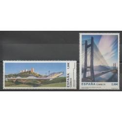 Espagne - 2013 - No 4520/4521 - Ponts