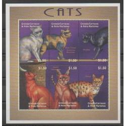 Grenadines - 2000 - Nb 2882AD/2882AJ - Cats
