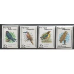 Gabon - 1980 - No 442/445ND - Oiseaux