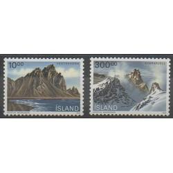 Islande - 1991 - No 693/694 - Sites