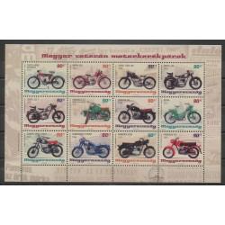 Hongrie - 2014 - No 4583/4594 - Motos