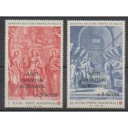 Order of Malta - 1994 - Nb 478/479