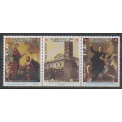Order of Malta - 2012 - Nb 1100/1101 - Paintings
