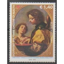 Ordre de Malte - 2012 - No 1117 - Peinture