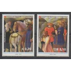 Order of Malta - 2013 - Nb 1183/1184 - Paintings