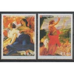 Ordre de Malte - 2014 - No 1214/1215 - Peinture