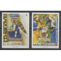 Order of Malta - 2014 - Nb 1237/1238 - Christmas