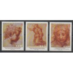 Order of Malta - 2015 - Nb 1248/1250 - Paintings