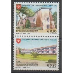 Ordre de Malte - 2015 - No 1280/1281 - Monuments