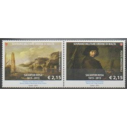 Ordre de Malte - 2015 - No 1278/1279 - Peinture