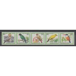 Corée du Sud - 1986 - No 1341/1345 - Oiseaux
