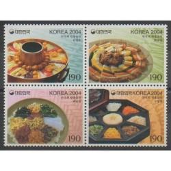 Corée du Sud - 2004 - No 2210/2213 - Gastronomie