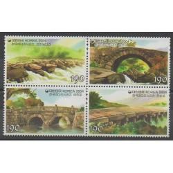 Corée du Sud - 2004 - No 2226/2229 - Ponts