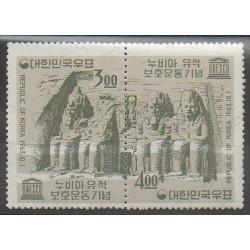 Corée du Sud - 1963 - No 313/314 - Monuments