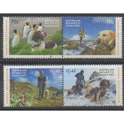 Australian Antarctic Territory - 2015 - Nb 229/232 - Dogs
