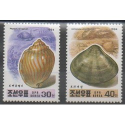 North Korea - 1994 - Nb 2503/2504 - Sea animals