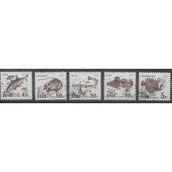 North Korea - 1995 - Nb 2598/2602 - Sea animals - Used