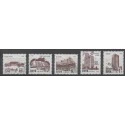North Korea - 1995 - Nb 2618/2622 - Monuments - Used