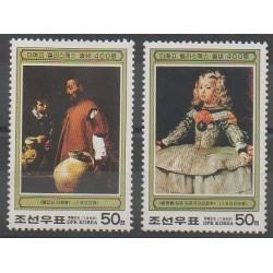 North Korea - 1999 - Nb 2867/2868 - Paintings