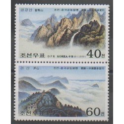 North Korea - 1999 - Nb 2915/2916 - Sights