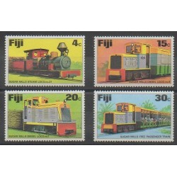 Fiji - 1976 - Nb 341/344 - Trains