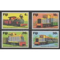Fidji - 1976 - No 341/344 - Chemins de fer