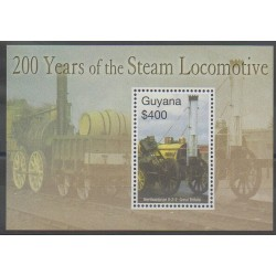 Guyana - 2004 - No BF476 - Chemins de fer