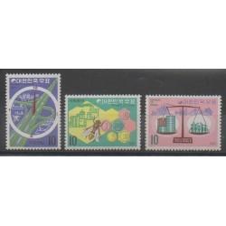 Corée du Sud - 1971 - No 630/632