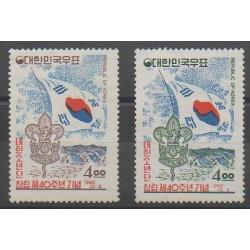 South Korea - 1962 - Nb 285/286 - Scouts