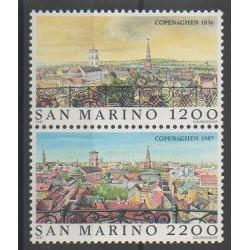 San Marino - 1987 - Nb 1169/1170 - Sights