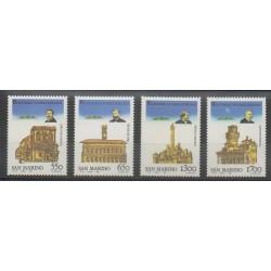 San Marino - 1988 - Nb 1181/1184 - Monuments
