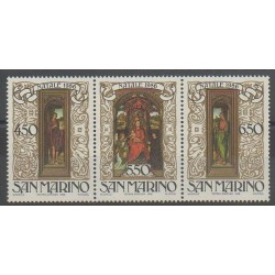 San Marino - 1986 - Nb 1145/1147 - Paintings - Christmas