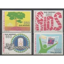 San Marino - 1988 - Nb 1189/1192 - Health
