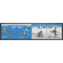Saint-Marin - 1994 - No 1357/1360 - Jeux olympiques d'hiver