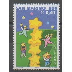 Saint-Marin - 2000 - No 1681 - Europa
