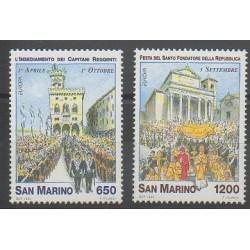 Saint-Marin - 1998 - No 1563/1564 - Europa