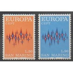 San Marino - 1972 - Nb 808/809 - Europa