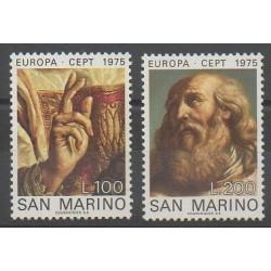 Saint-Marin - 1975 - No 891/892 - Peinture - Europa