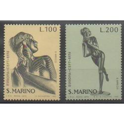 San Marino - 1974 - Nb 873/874 - Art - Europa
