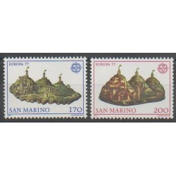 Saint-Marin - 1977 - No 933/934 - Europa