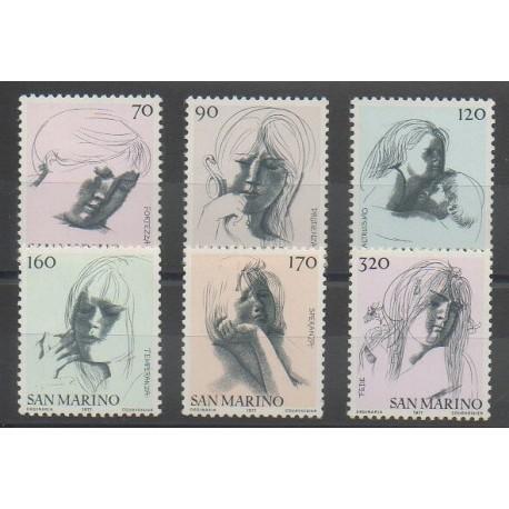 Saint-Marin - 1977 - No 935/940 - Art