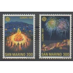 San Marino - 1981 - Nb 1024/1025 - Europa